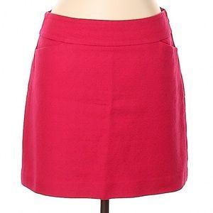 Ann Taylor Loft Textured A-Line Mini Pocket Skirt